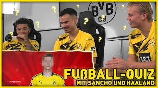 Who is this? | Football-Quiz with Erling Haaland, Jadon Sancho & Erné