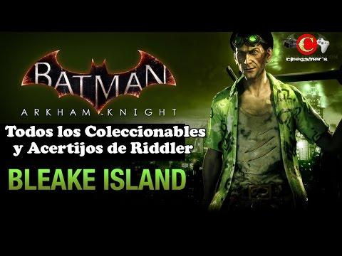 Batman Arkham Knight | Guía de TODOS los Coleccionables y Trofeos | Bleake Island