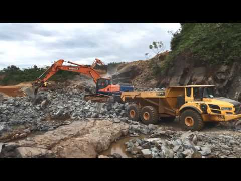 Mt. Coffee Hydropower Plant - Liberia - Progress as of December 15, 2016