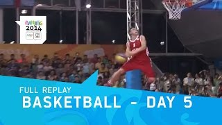 Basketball - Skills Challenge Day 5 | Full Replay | Nanjing 2014 Youth Olympic Games