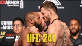 Best of UFC 241 Ceremonial Weigh-ins | ESPN MMA