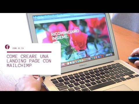 Come Creare Una Landing Page Con Mailchimp Per Raccogliere Contatti