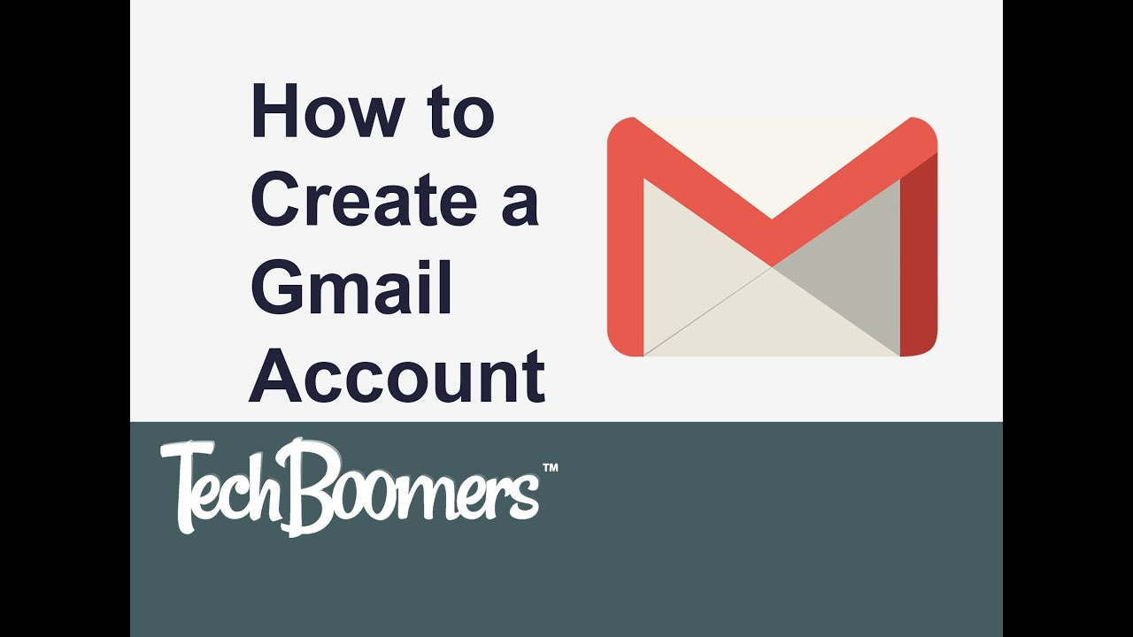 how to create youtube account with gmail