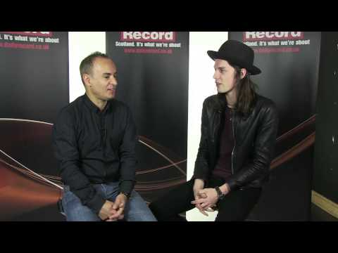 James Bay in Daily Record acoustic session - Interview