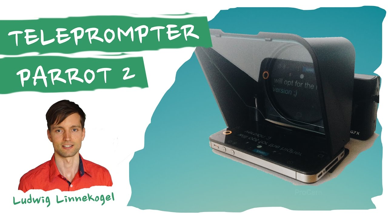 The Parrot 2 Mini Teleprompter unboxing 2nd Generation