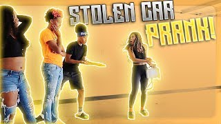 STOLEN CAR PRANK ON TAE FROM JAZZ AND TAE!!! (SHE WAS PISSED)