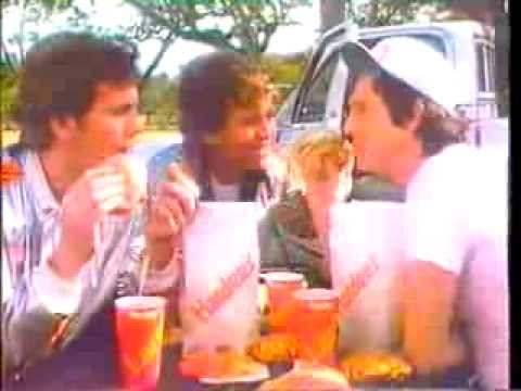1981 hardee 39 s chicken fillet sandwich commercial 2 youtube for Hardee s fish sandwich