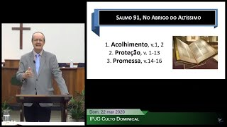Culto Dominical - No Abrigo do Altíssimo