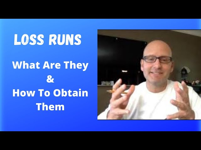 Loss Runs Explained! What are they? Why Are they Needed?