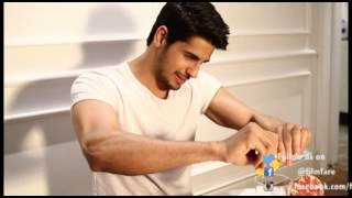 Behind the scenes with Sidharth Malhotra