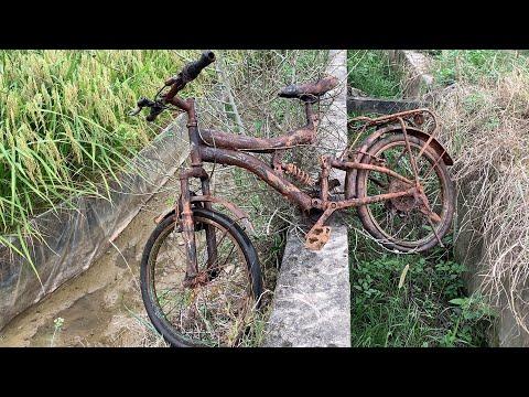 Restoration Old Rusty Kids Bike | Tear down Children Bicycle P1 thumbnail