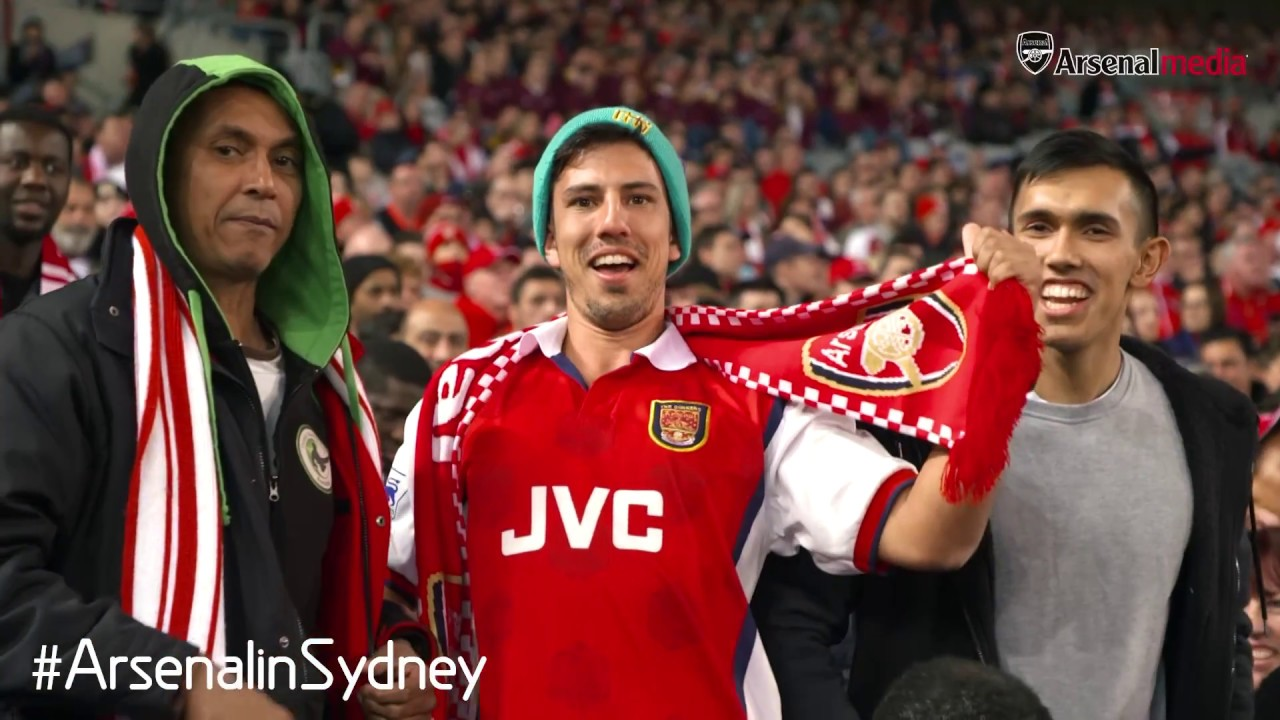 Thank you, Sydney: Fans, football and funnies | Arsenal Tour 2017