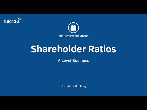Finance: Shareholder Ratios