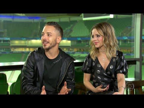 NÃO PASSOU NA TV A entrevista completa de Sandy & Junior no Fantástico