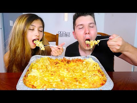 EXTREMELY CHEESY MAC & CHEESE ULTIMATE FEAST • Mukbang & Recipe
