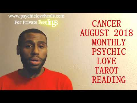 "CANCER AUGUST 2018 ""DRIVING YOU INSANE BUT Y'ALL HAVE MUCH TO GAIN"" PSYCHIC LOVE READING"