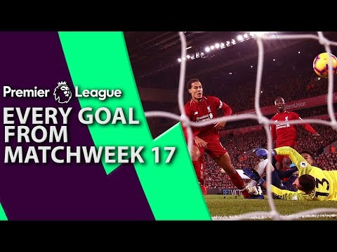 Every goal from Premier League Matchweek 17 | NBC Sports