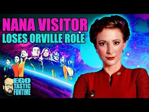 Nana Visitor Loses Role In The Orville  Season 2 Spoiler  TALKING THE ORVILLE