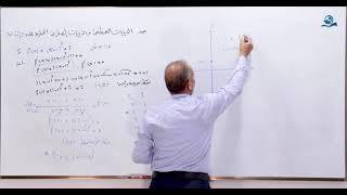 مادة الرياضيات للصف السادس الاعدادي : النهايات العظمى والصغرى الجزء الثاني