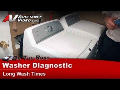 Maytag Amp Whirlpool Washer Diagnostic Does Not Go In S
