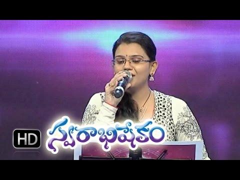 Jeevamu Neeve Kada Deva Song - Pranavi Performance In ETV Swarabhishekam - 27th Sep 2015