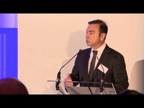 ACEA Annual Reception Speech Carlos Ghosn