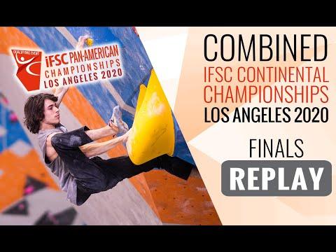 IFSC Pan-American Championships 2020 - MEN - Finals