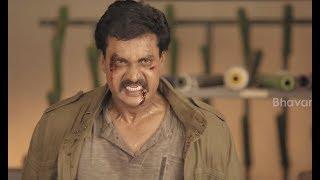 సునీల్  పునీత్ ఇస్సార్ల మధ్య థ్రిల్లింగ్ ఫైట్ సీన్ మీ కోసం - 2017 Latest Telugu Movie Scenes