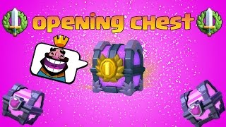 Clash Royale - MAGICAL , TOURNAMENT CHEST OPENING : ALL FREE - FUNY CHEST
