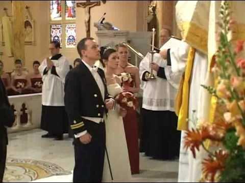 Tridentine Solemn High Nuptial Latin Mass, Washington D.C. 2003 - Part 1 Processional