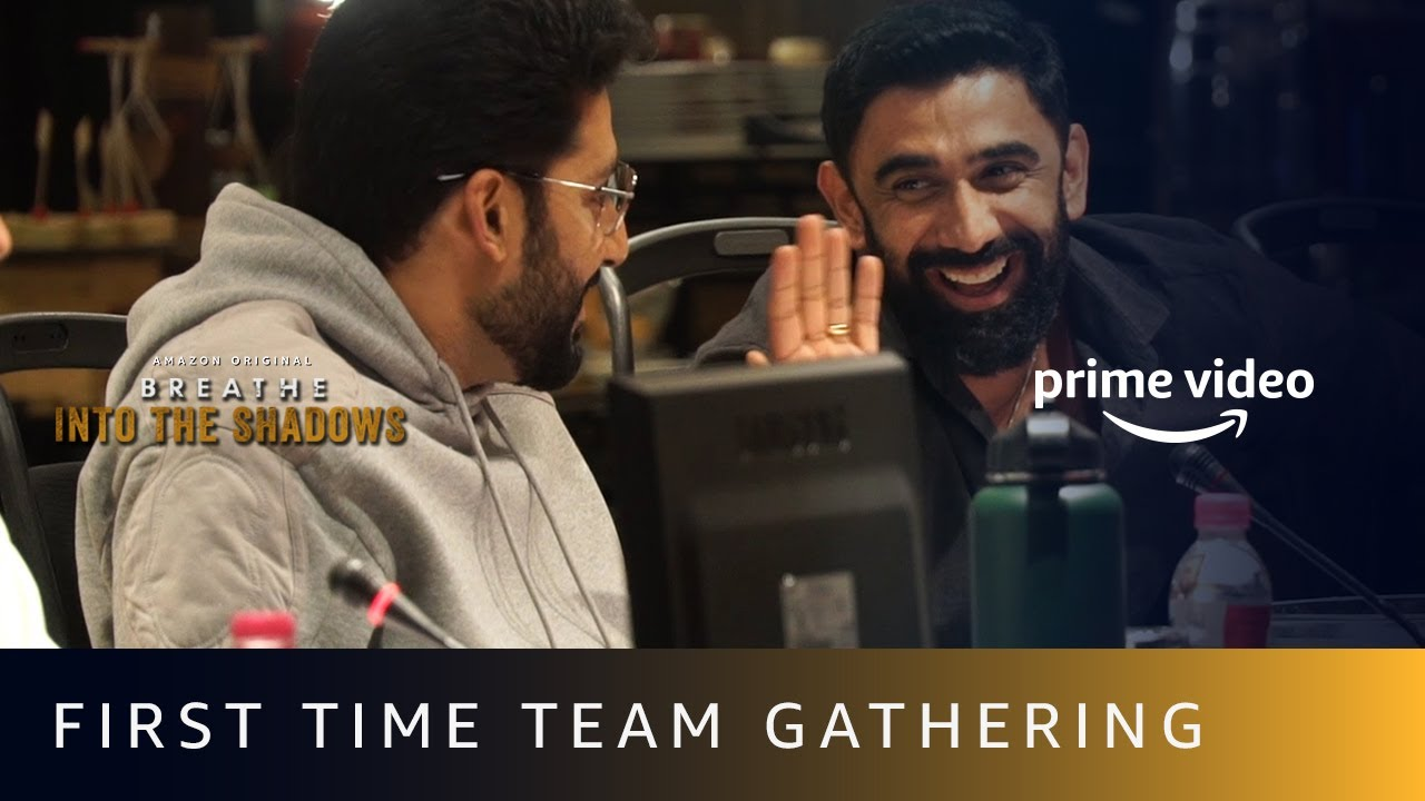 First Time Entire Team Gathering on Table Read | Breathe - Into The Shadows | Amazon Prime Video