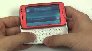 Sony Ericsson Txt Pro - zprávy a kontakty