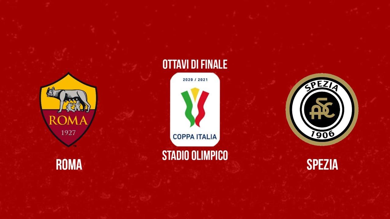 Download Roma - Spezia   Ottavi di finale   19/01/2021   Coppa Italia   PES 2021