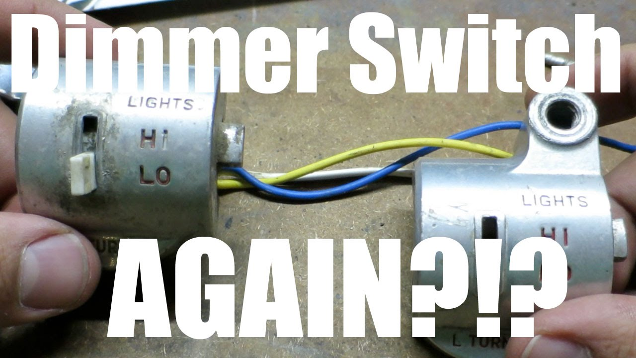 Project Honda C70   Updates & Dimmer Switch AGAIN?!? on