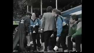 Leicester V Newcastle 1992 Filbert Street Pitch Invasion