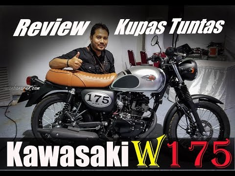 Video launching & review detil Kawasaki W175 | Ganteng puolll !