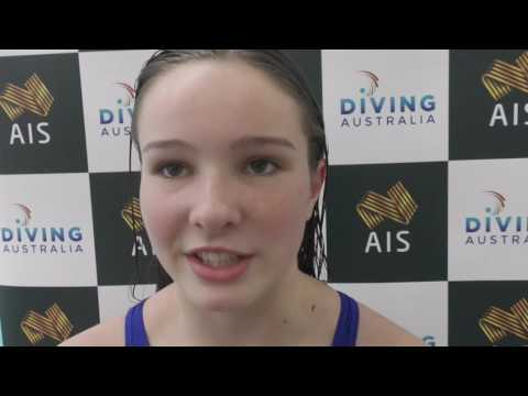 Australian diver Nikita Hains