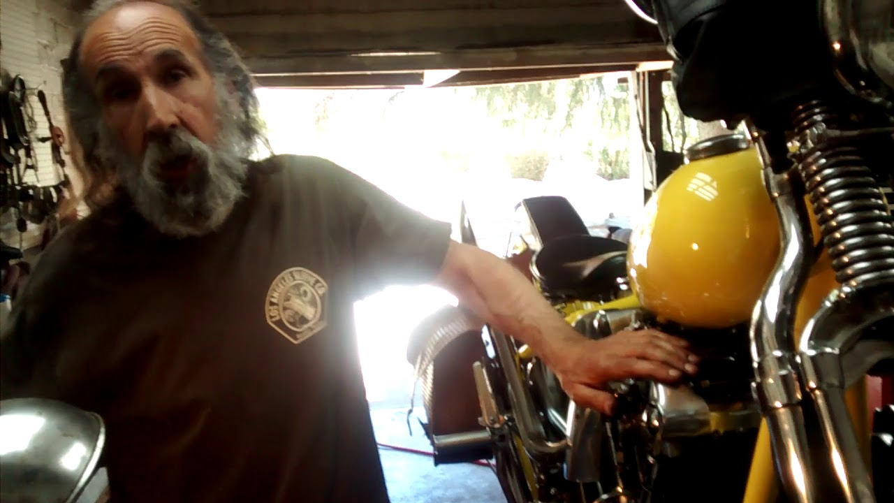 How To Set The Points And Timing On An Old Harley Big Twin Youtube 1966 1969 Fhl Wiring Diagram