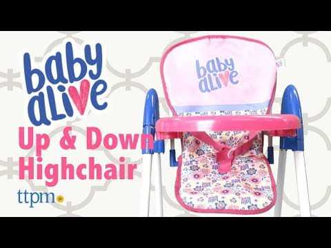 Baby Alive Doll Up N Down Highchair from Hauck