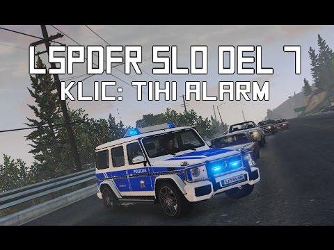 GTA V LSPDFR DEL. 7 | POSSIBLE SILENT ALARM CALL [SLO]