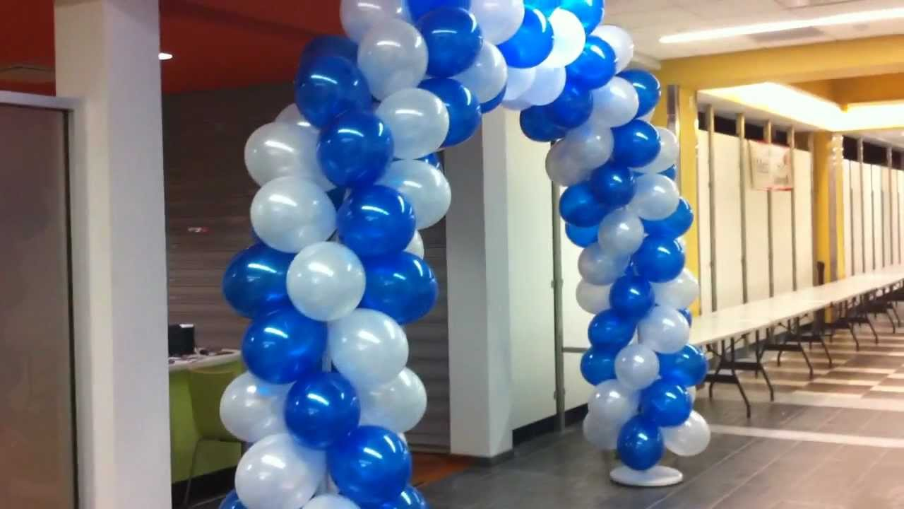 Mechanicsburg pa balloon arches balloon decorations for Balloon decoration ideas youtube