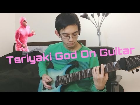 Pink Guy - Teriyaki God On 8-String Guitar (Lyrics in description)