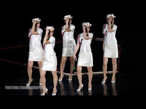 North Korean Moranbong Band: One great family - Uma grande família - 하나의 대가정