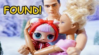 LOL SURPRISE DOLLS Sister Lily Accidentally Flies To ALASKA!