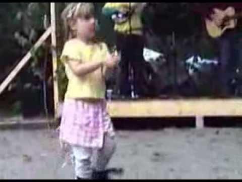 Megan at the Girdwood Forest Fair - July 3, 1998