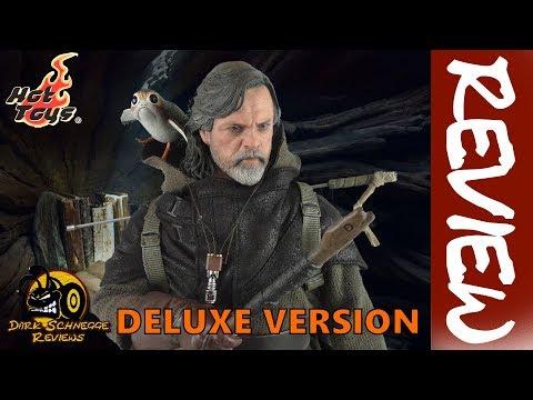Hot Toys   Star Wars Episode 8 LUKE SKYWALKER DELUXE VERSION MMS458 Review [German/Deutsch]