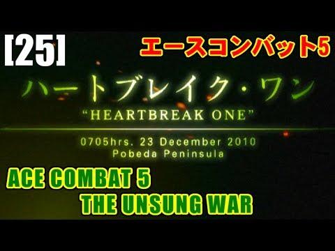 [M25] ハートブレイク・ワン(HEARTBREAK ONE) - ACE COMBAT 5 THE UNSUNG WAR