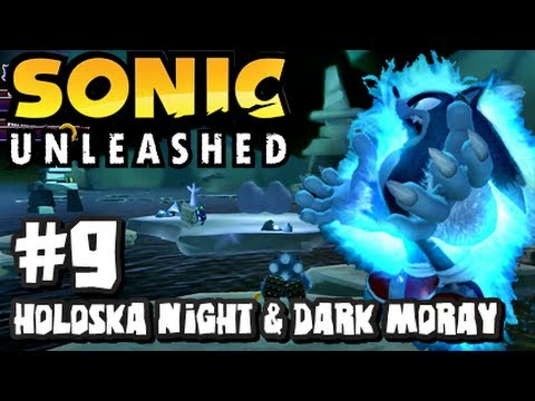 Sonic Unleashed (360/PS3) - (1080p) Part 9 - Holoska Night & Dark Moray