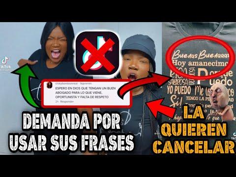 CHIKY BOM BOM AMENAZA con DEMANDAR a los QUE USEN SUS FRASES BUENAS BUENAS | POLEMICA + cancelación