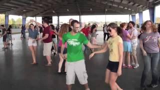 Swing Dancing at Barber Park Rollerblade Pavilion, Orlando, ORLX4